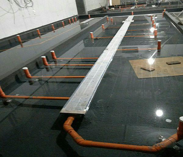 台中中央廚房防水工程-張小姐