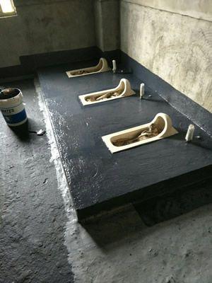 南投公司大樓廁所防水工程-陳老闆