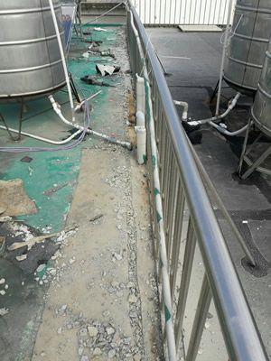 台南大樓屋頂防水工程-吳大哥