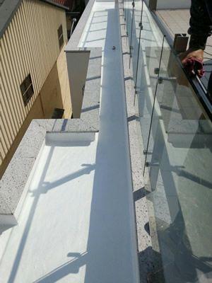 南投屋頂排水溝防水工程-張房東