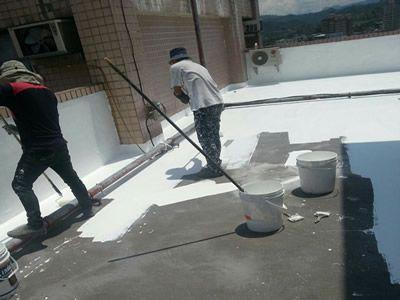 南投大樓 屋頂防水工程 隔熱工程