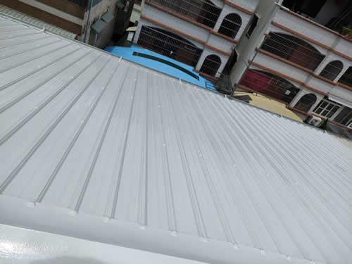 南投屋頂鐵皮防水工程 隔熱工程-吳先生