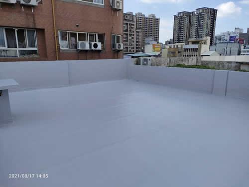 台中屋頂防水工程 隔熱工程-林小姐