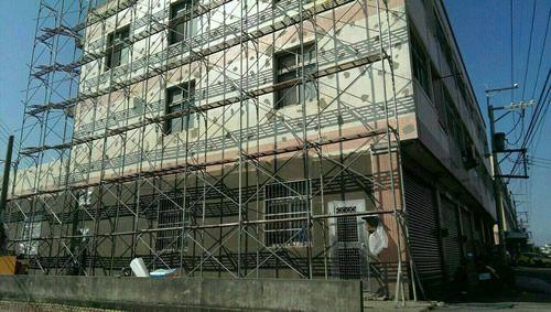 台中某大樓外牆防水工程